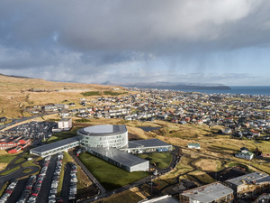BIG-Bjarke Ingels Group'tan Faroe Adaları'na Okul Kompleksi