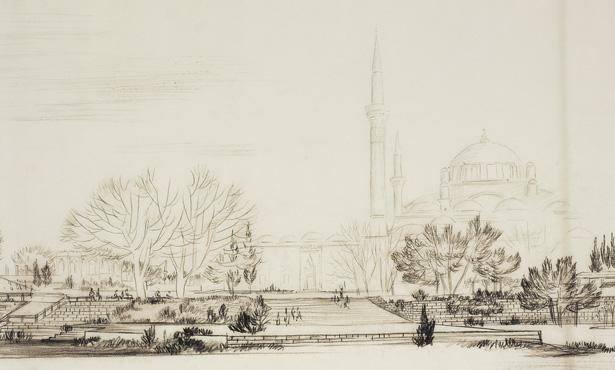 Beyazıd Meydanı Düzenleme Projesi