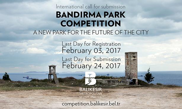 Uluslararası Bandırma Tasarım Parkı Yarışması İlan Edildi
