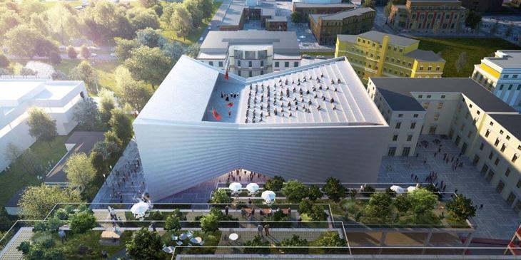 Big In Tasarladığı Yeni Tiyatro Binası Formu Ve 199 Atı