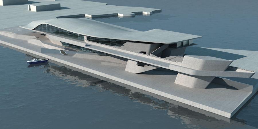 Zaha hadid architects 39 in n m zdeki aylarda 6 binas for Arquitectura naval e ingenieria maritima