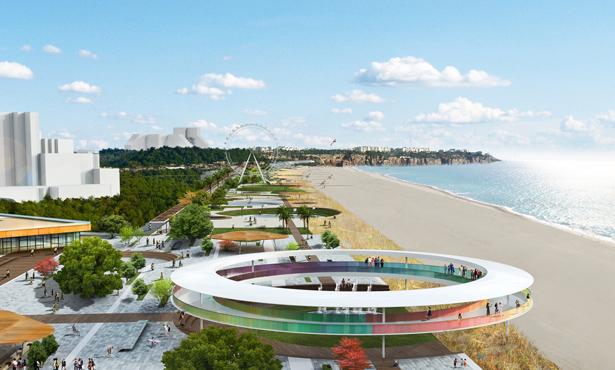 Konyaaltı Sahili Mimari ve Kıyı Düzenlemesi Fikir Projesi Yarışması Projeleri Yayında