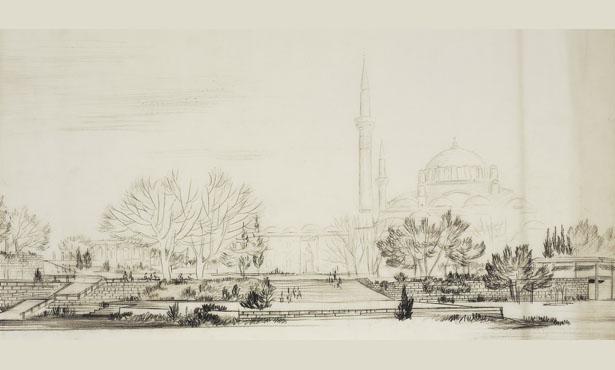 Turgut Cansever'in Beyazıt Meydanı Projesi