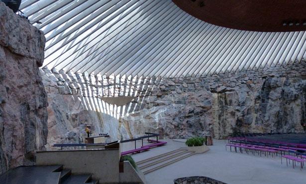 Yaşasın Zamanı Olmayan Mekanlar: Helsinki'deki Yeraltı Kilisesi Üzerine