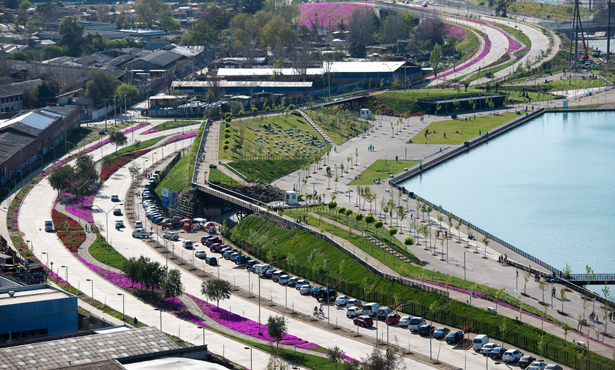 Nehrin Kentle İlişkisini Yeniden Kuran Park
