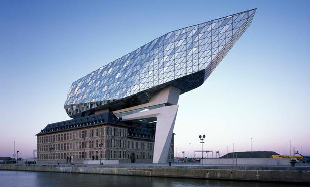 Zaha Hadid Architects'in Anvers'teki Binası Kullanıma Açıldı
