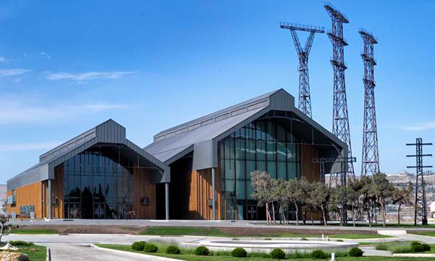 Erginoğlu ve Çalışlar Mimarlık'ın Bakü Liman Bölgesinde Kültür Merkezi Projesi