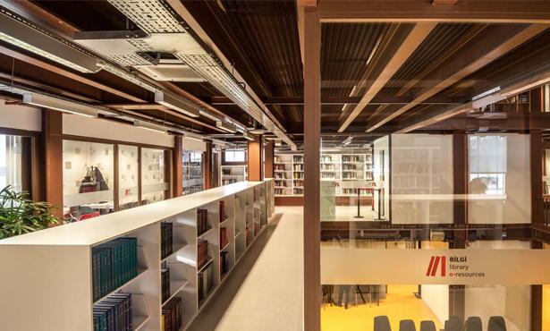 Kazan Dairesinden Üniversite Kütüphanesine