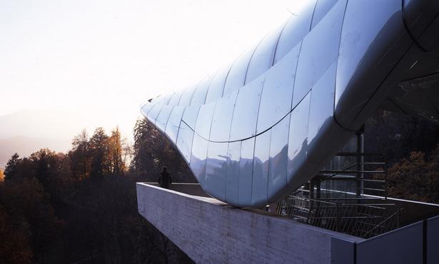 Zaha Hadid'den Avusturya'da Sıradağlara Çıkan Sıra İstasyonlar