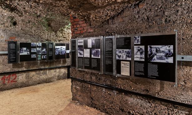 Holokost Mağdurlarının İnşa Ettiği Sığınak Sergi Mekanına Dönüştü