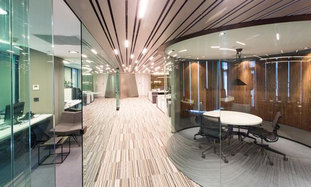 CKMY Architects Ofis Tasarımında Dinamik Bir Çalışma Alanı Yarattı
