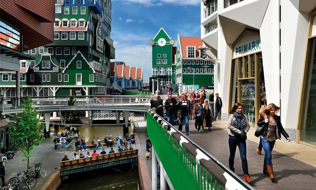 Hollanda'da Renkli Bir Kentsel Tasarım