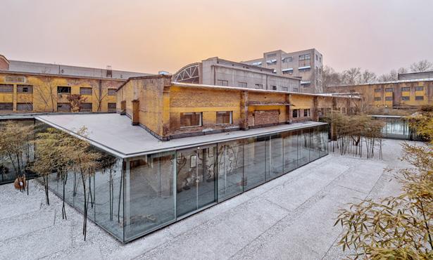 Çin'de Yıkılmaktan Kurtulan Eski Bir Fabrika Binasının Dönüşümü