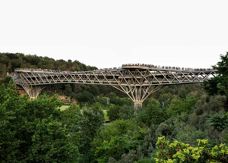 Tabiat Yaya Köprüsü  Diba Tensile Architecture ile ilgili görsel sonucu