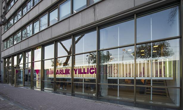 Mimarlık Yıllığı 2016 Sergisi Studio-X Istanbul'da Açıldı