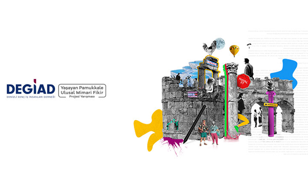 DEGİAD - Yaşayan Pamukkale Ulusal Mimari Fikir Projesi Yarışması İlan Edildi
