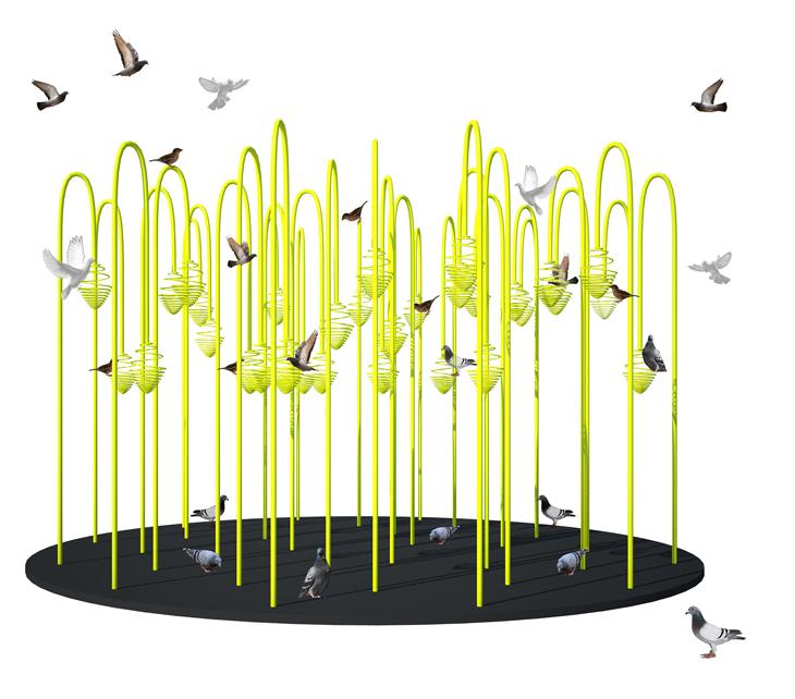 9 Tasarım Ekibinin Yerleştirmeleri Beşiktaş Çiçek Festivali'nde