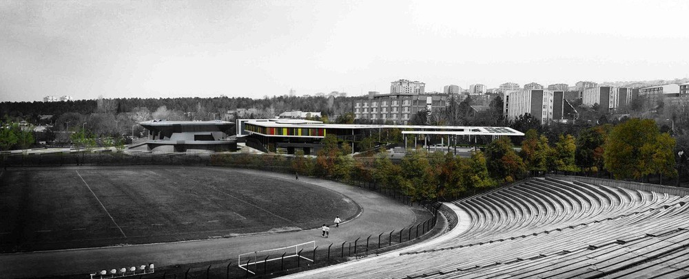 1. Ödül, ODTÜ Öğrenci Merkezi Binası ve ODTÜ Meydanı Mimari Proje Yarışması