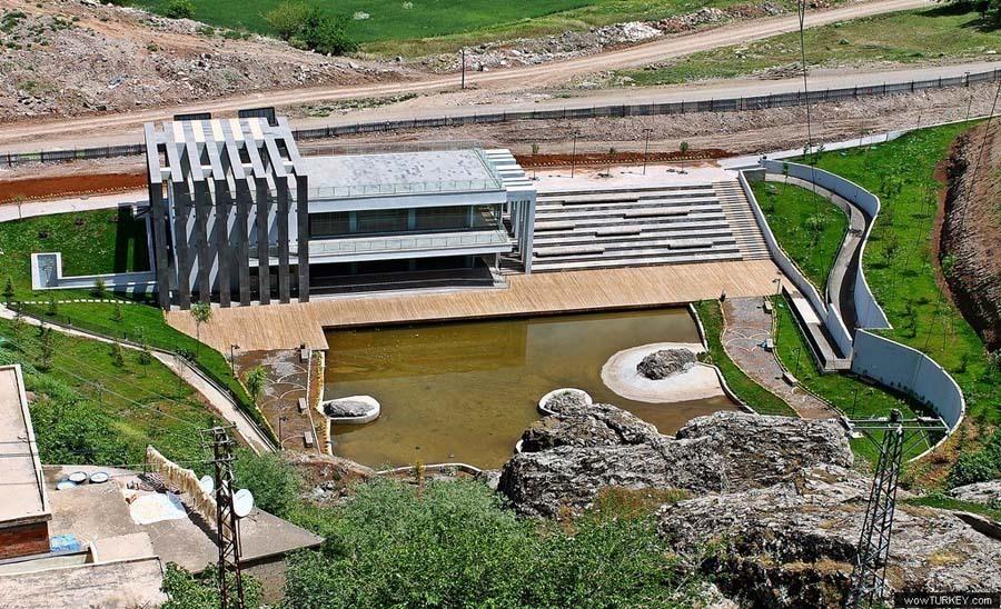 Dicle Vadisi Kültürpark Fiskaya Kafe ve Pompa Binası