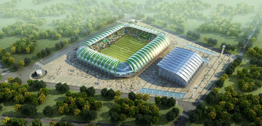 Akhisar Arena Stadyumu'nun Tasarımı Adnan Kazmaoğlu Mimarlık'a Ait