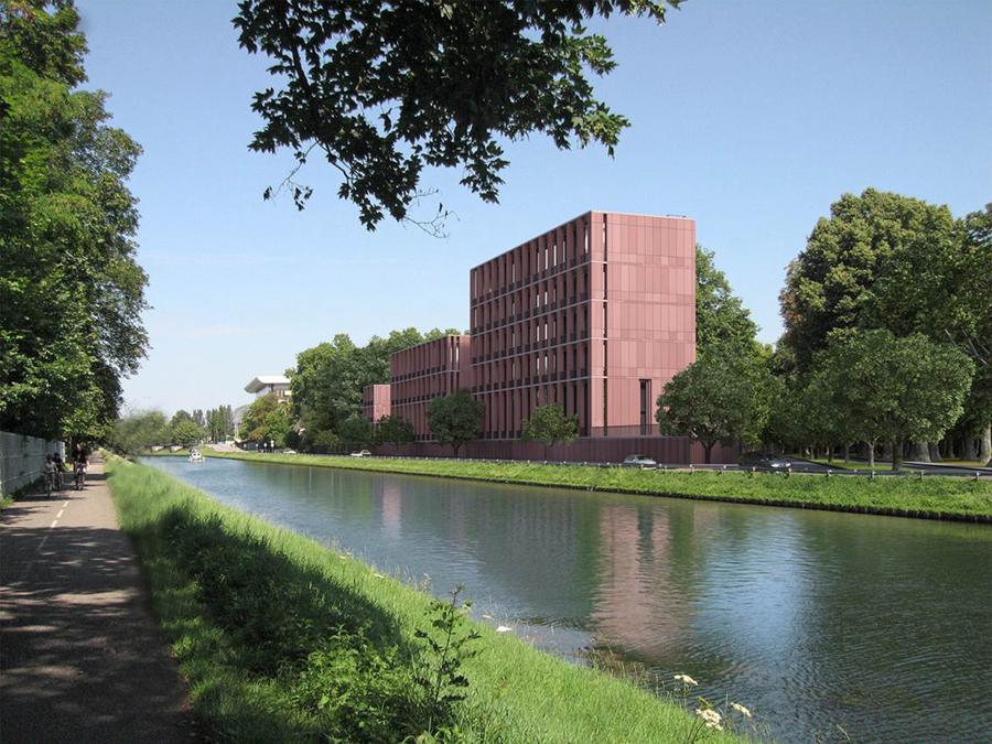 Türkiye Cumhuriyeti Misyon Binaları Strazburg