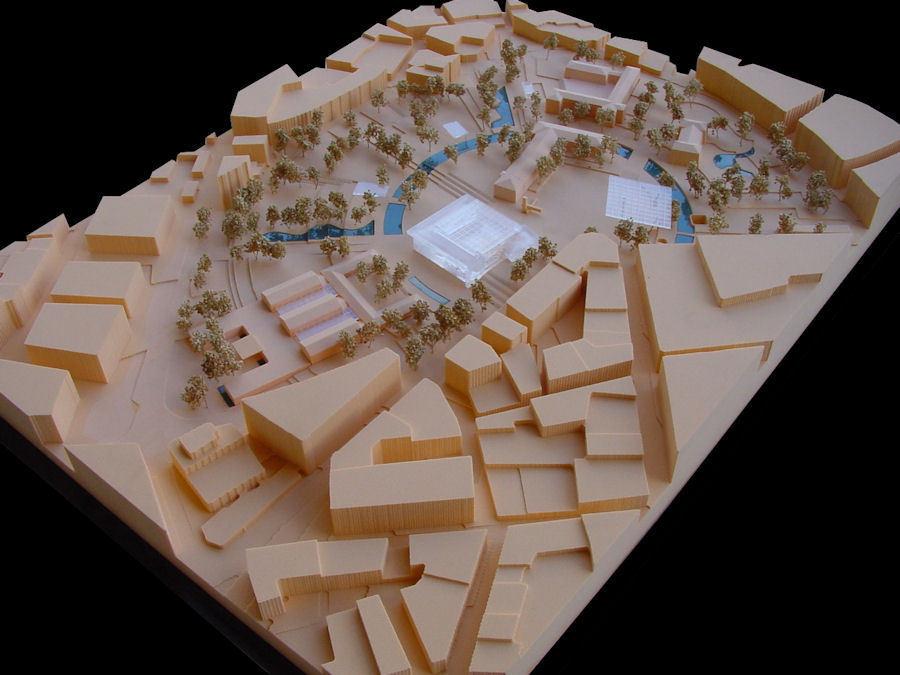 1. Ödül, Denizli Hükümet Konağı Mimari Projesi ve Yakın Çevresi Kentsel Tasarım Yarışması