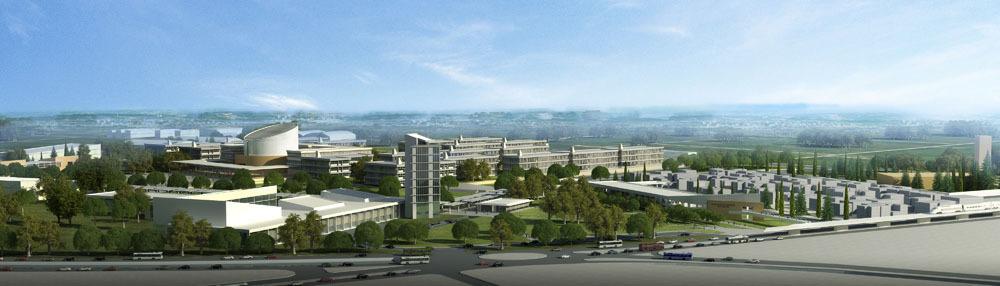 1. Ödül (Arıkoğlu Arkitekt), Adana Bilim ve Teknoloji Üniversitesi Master Planı