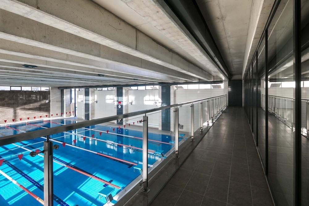 Bilkent Üniversitesi Kapalı Yüzme Havuzu
