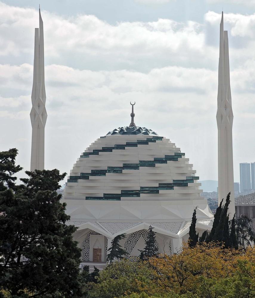 Marmara üniversitesi Ilahiyat Fakültesi Camii Ve Kültür Merkezi