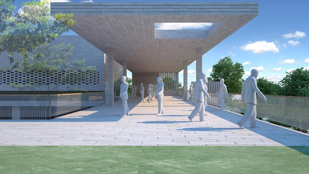 1. Ödül, Şişli Halide Edip Adıvar Külliyesi Ulusal Mimari Proje Yarışması