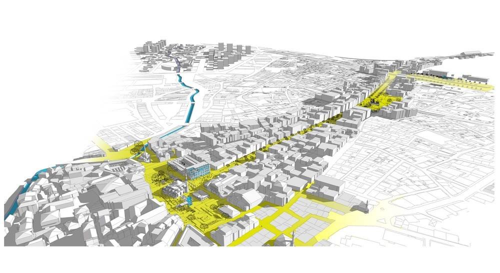 İsmetpaşa Caddesi ve Çevresi Kentsel Tasarım Projesi