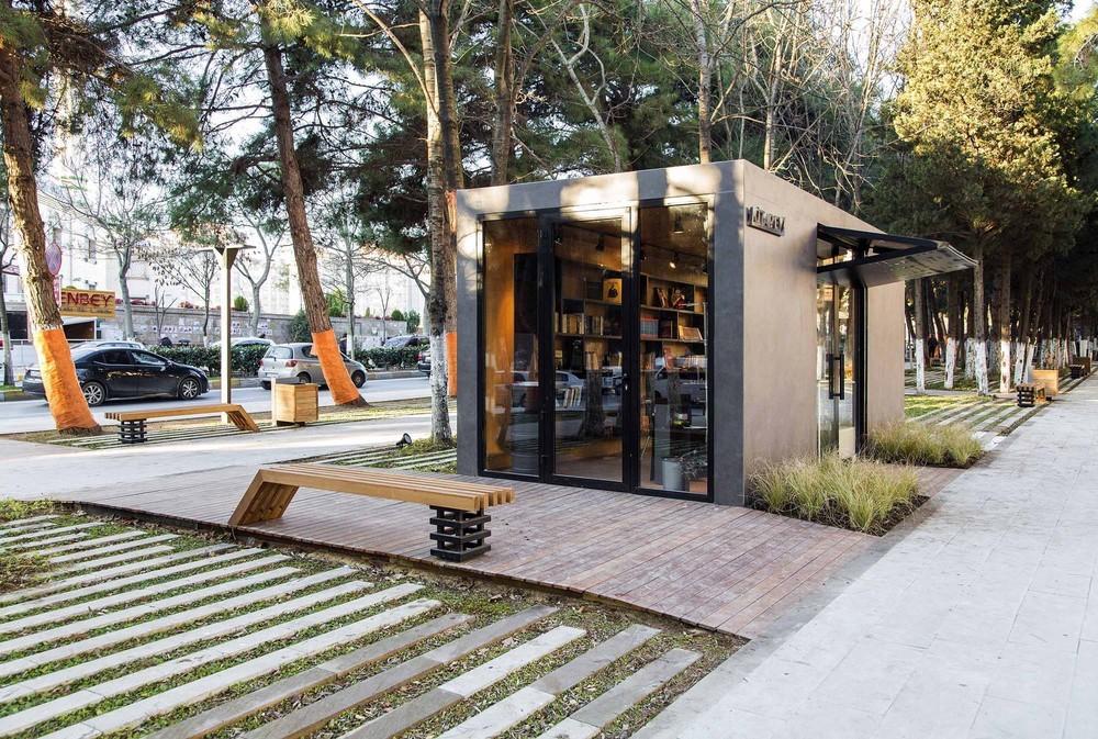 Cumhuriyet Caddesi Kentsel Tasarım Projesi 1. Kısım 1. Etap Kiosk Yapısı ve Park