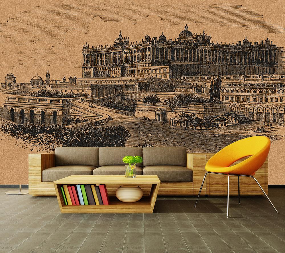 HD Walls Fiona Metallic Duvar Kağıdı