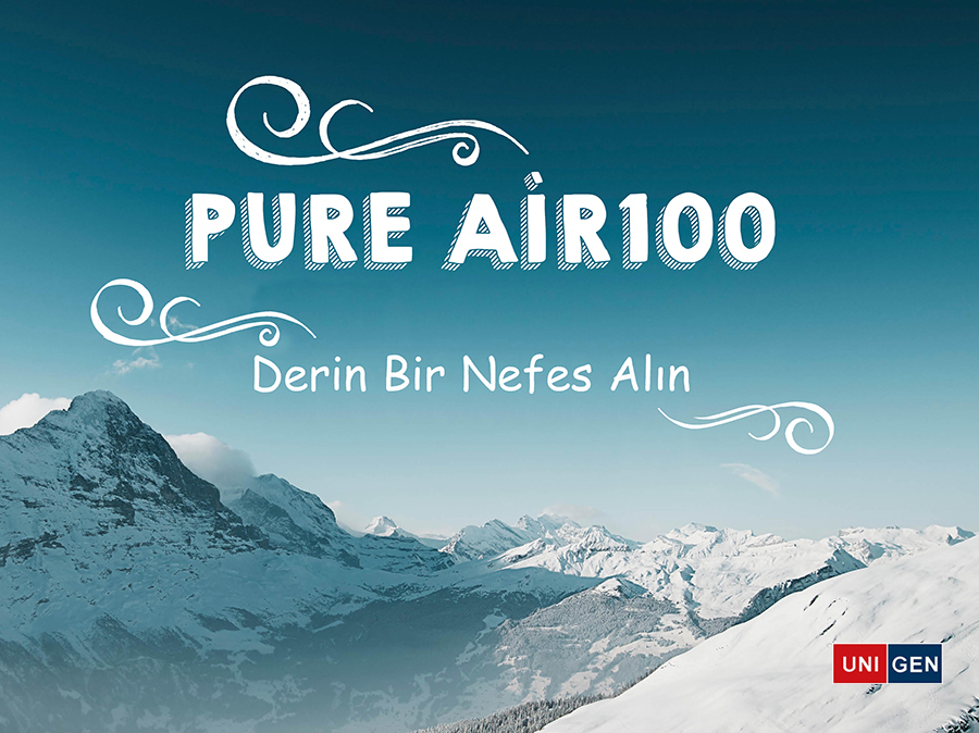 Pure Air100 ile Tozlara Elveda!