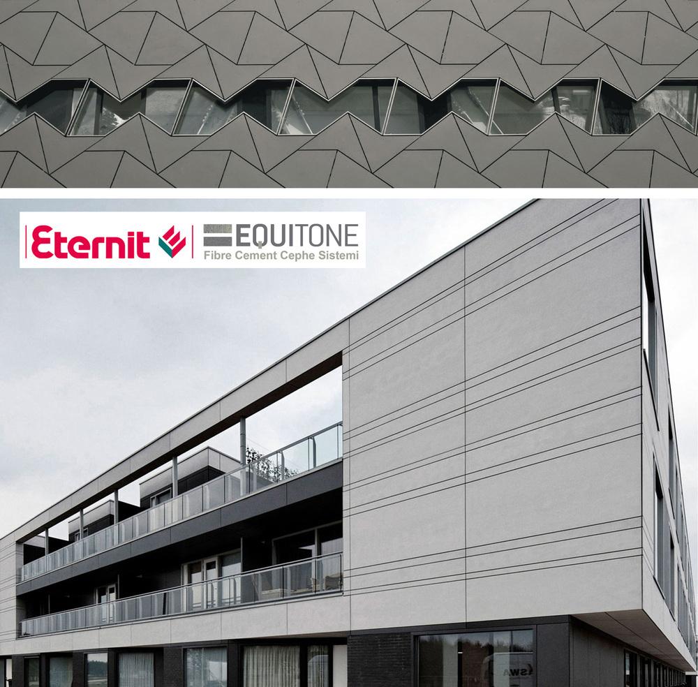 Eternit Equitone Fiber Cement Giydirme Cephe Sistemi