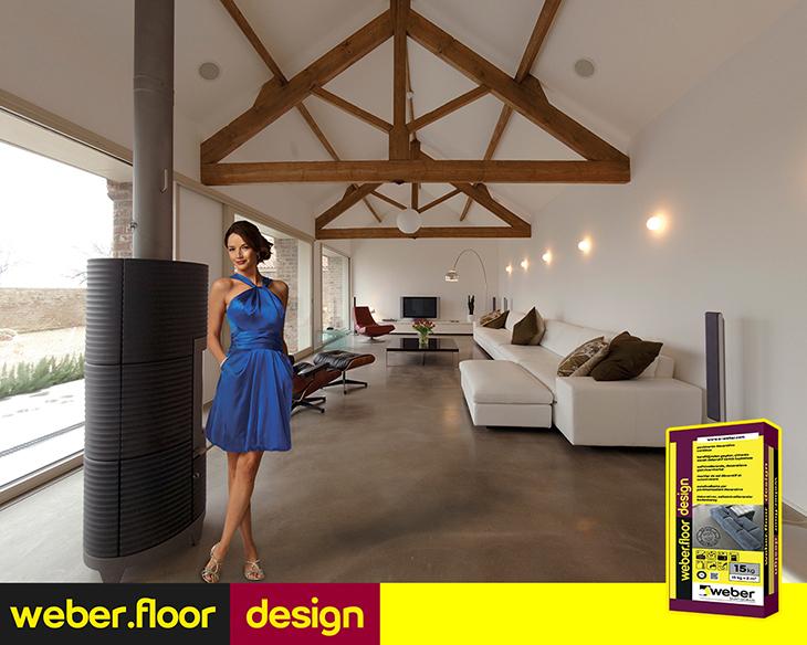Y ksek standartlarda dekoratif zemin kaplamas weber for Weber design