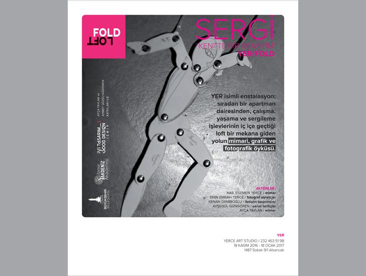"""""""Yer/Fold: Kentte Bir Deneyim"""" Sergisi"""