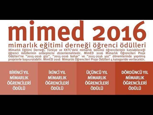 MimED 2016 Öğrenci Proje Yarışması Sonuçlandı