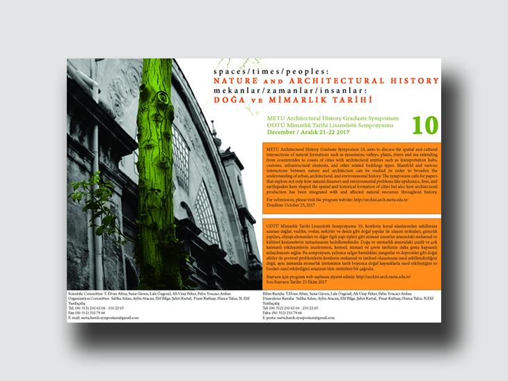 Mekanlar/ Zamanlar/ İnsanlar: Doğa ve Mimarlık Tarihi