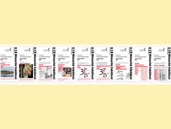 Dünya Mimarlık Haftası / sergi  (02 ekim - 30 ekim) / GTÜ