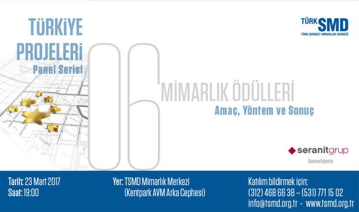 Türkiye Projeleri - 6: Mimarlık Ödülleri - Amaç, Yöntem, Sonuç