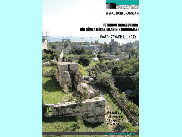MİMAD Seminerleri - İstanbul Karasurları: Bir Dünya Mirası Alanının Korunması