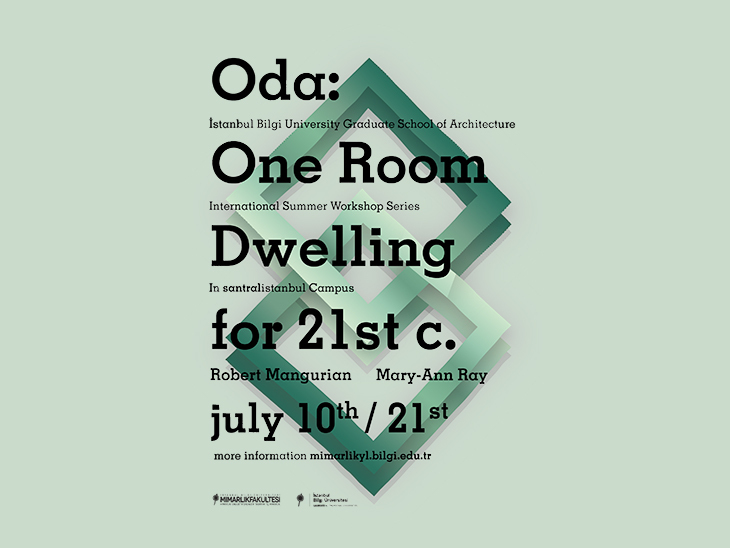 Oda: One Room Dwelling for the 21st Century