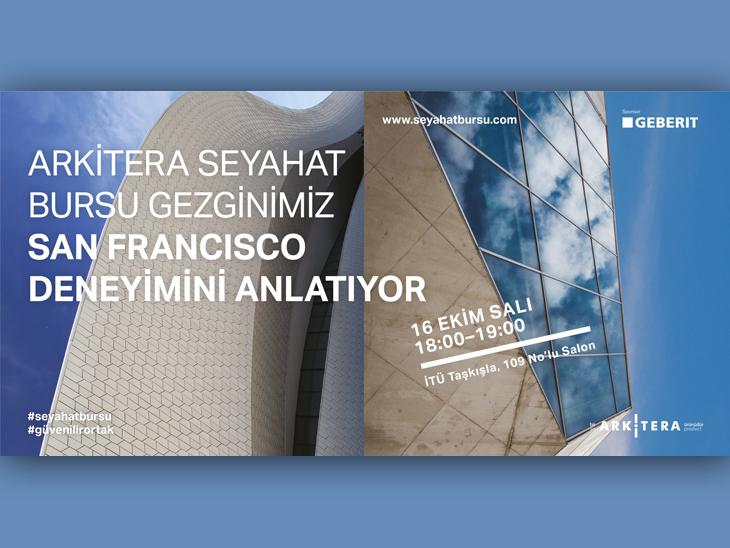 Arkitera Seyahat Bursu 2018 İstanbul Sunumu