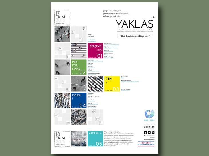 Özyeğin Üniversitesi 10. Yıl Etkinlikleri: YAKLAŞ