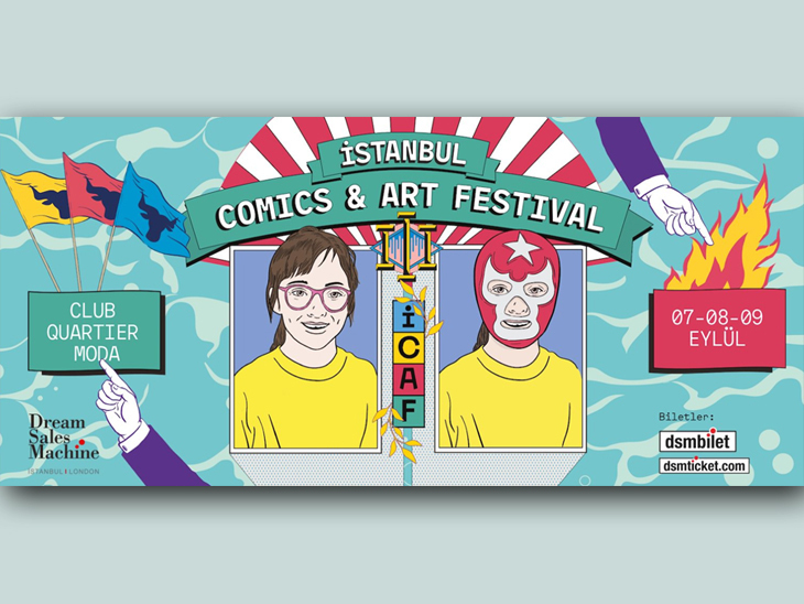 İstanbul Comics and Art Festival 2018