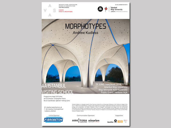 AA Istanbul Visiting School Lecture - Morphotypes