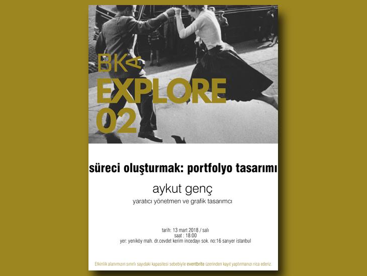 BKA Explore - Süreci Oluşturmak: Portfolyo Tasarımı