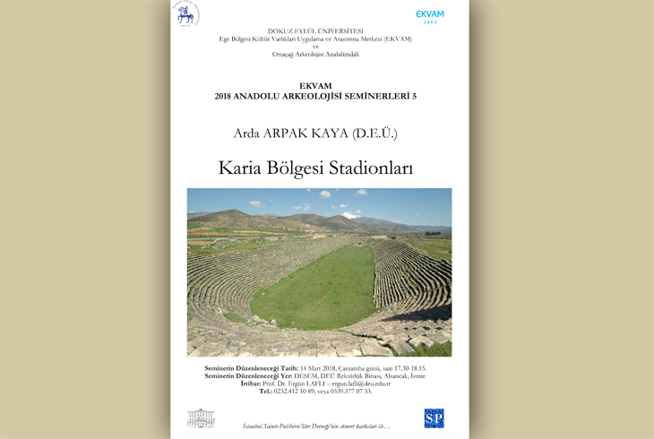 Ekvam 2018 Anadolu Arkeolojisi Seminerleri 5: Karia Bölgesi Stadionları