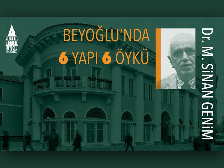 Beyoğlu'nda 6 Yapı 6 Öykü